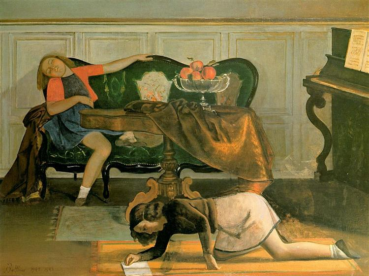 Drawing Room, c.1943 - Balthus