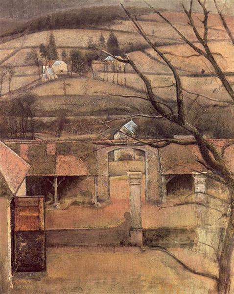 Landscape in Chassy - Balthus