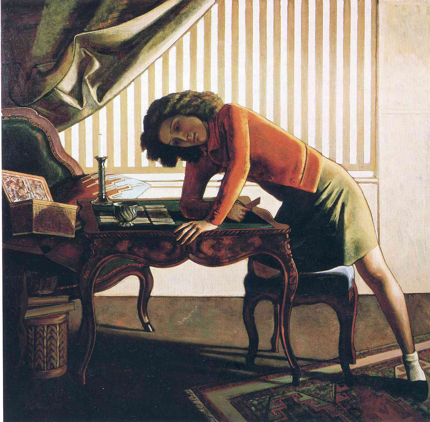 Patience 1943 balthus for Balthus la chambre
