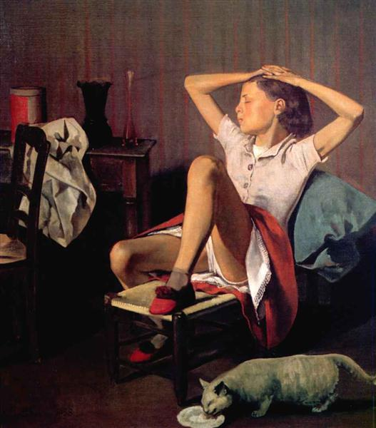 Thérèse dreaming, 1938 - Balthus