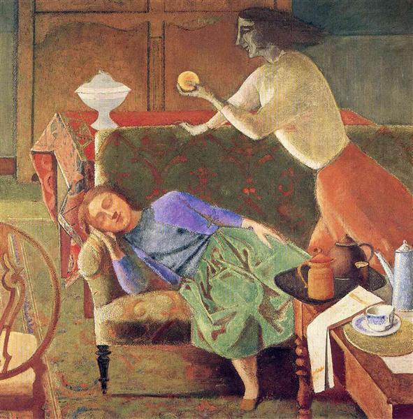 The Golden Fruit, 1956 - Balthus