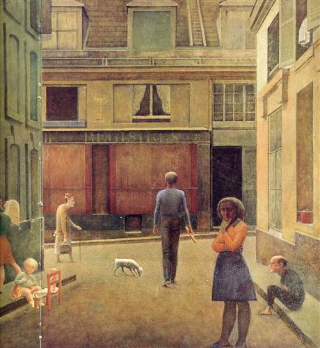 The passage of Commerce Saint-Andre - Balthus