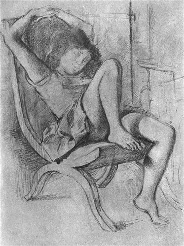 Young girl asleep - Balthus