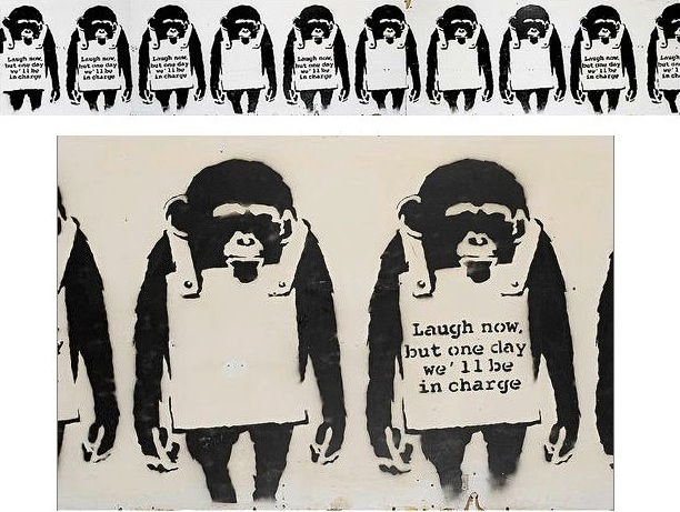 Laugh Now, 2002 - Banksy