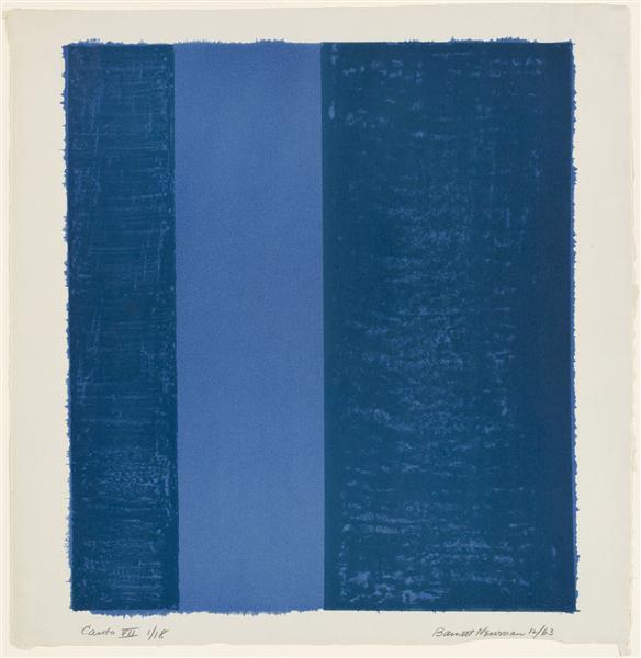 Canto VII, 1963 - Barnett Newman
