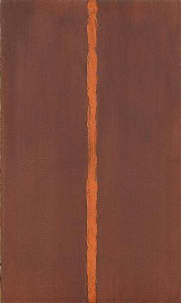 Onement I, 1948 - Barnett Newman
