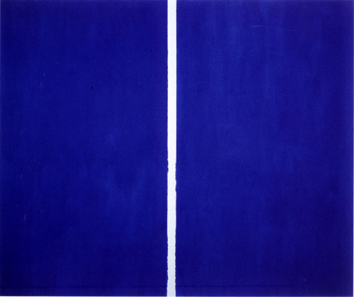 Onement VI, 1953 - Barnett Newman