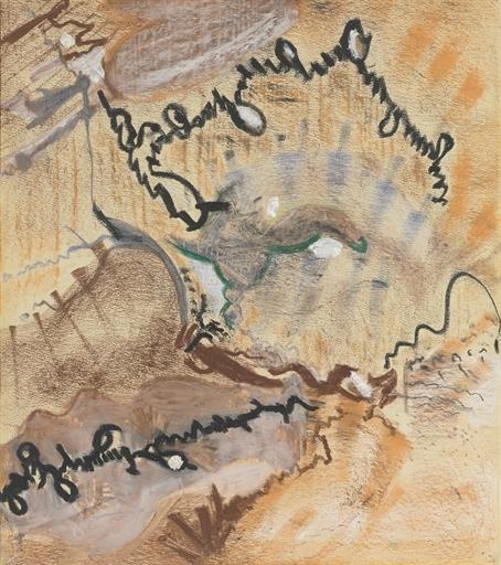 Untitled, 1945 - Barnett Newman