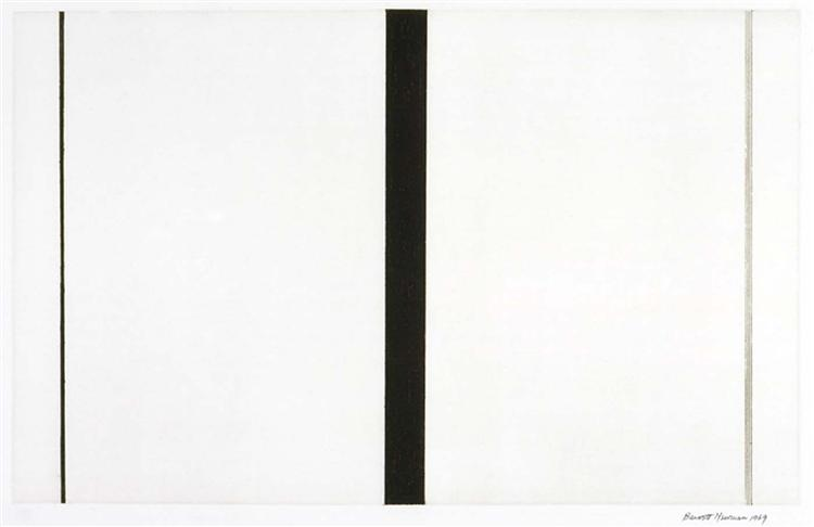 Untitled Etching #1, 1969 - Barnett Newman
