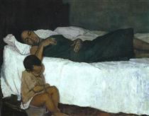 Mother and Child - Barrington Watson