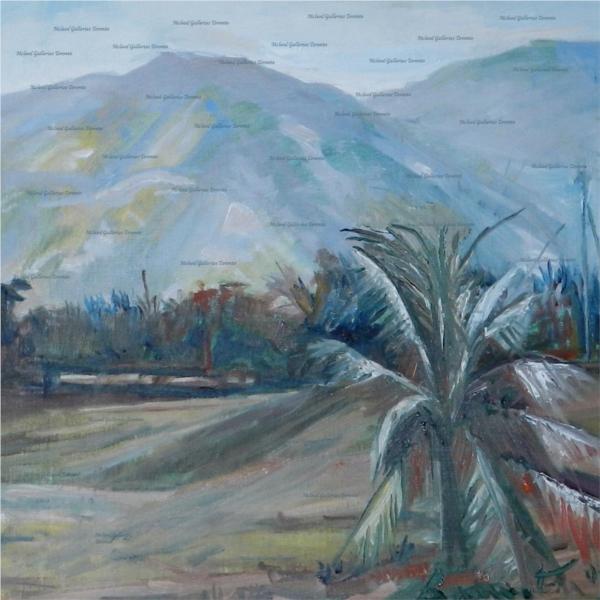 Silver Palm - Barrington Watson