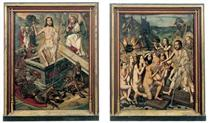 Resurrection and Descent of Christ to Limbo - Bartolome Bermejo