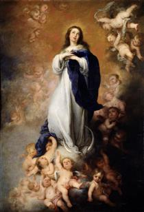 Immaculate Conception of Soult - Bartolomé Esteban Murillo