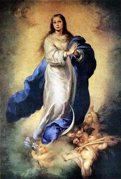 The Immaculate Conception, 1660 - 1665 - Bartolome Esteban Murillo