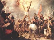 The Martyrdom of St. Andrew - Bartolomé Esteban Murillo