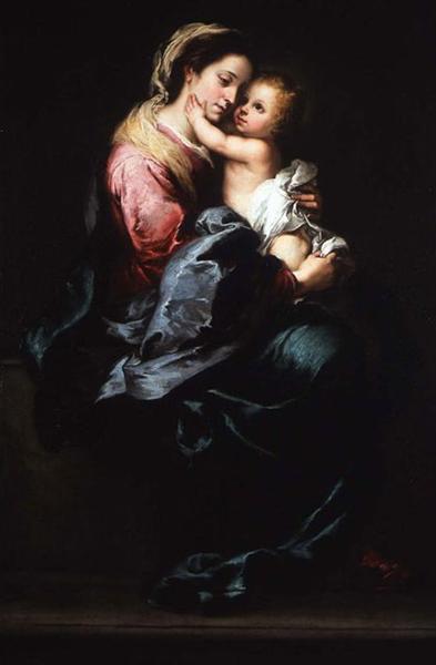 Virgin and Child, 1650 - Bartolomé Esteban Murillo