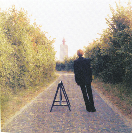 Broken Fall (Geometric; Blue-Yellow-Red), Westkapelle, Holland, 1971 - Bas Jan Ader