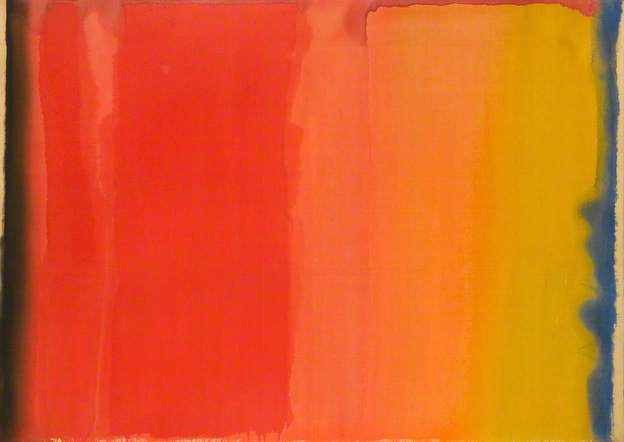 Orange No.1, 1969 - Basil Beattie
