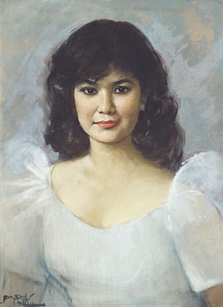 Potret Wanita - Басукі Абдуллах