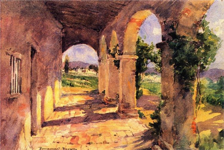 Corridors of San Juan Capistrano - Бенджамін Браун