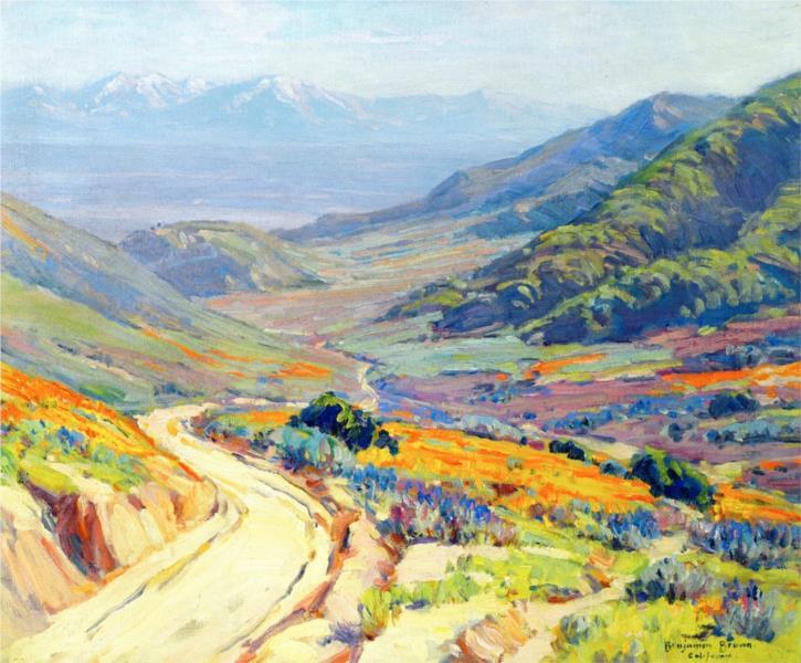 Poppies, Antelope Valley - Бенджамін Браун