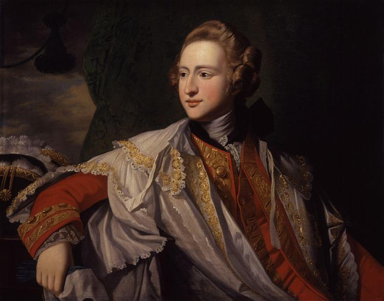 Francis Osborne, 5th Duke of Leeds - Benjamin West