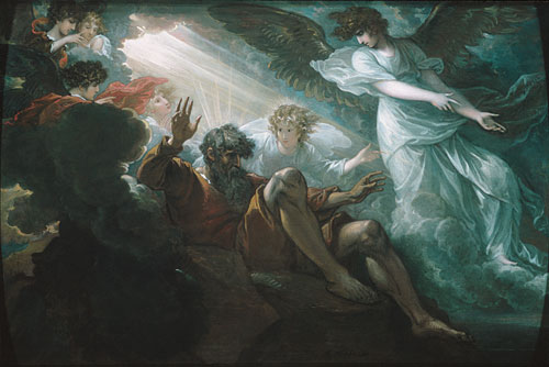 Moses Shown the Promised Land, 1801 - Benjamin West