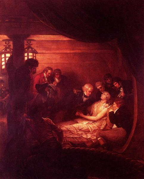 The Death Of Nelson, 1808 - Benjamin West