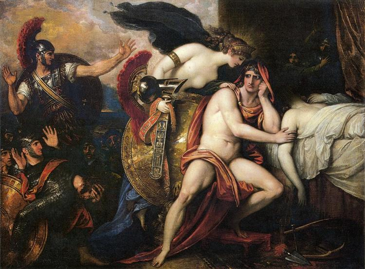 Thetis Bringing the Armor to Achilles, 1806 - 1808 - Benjamin West