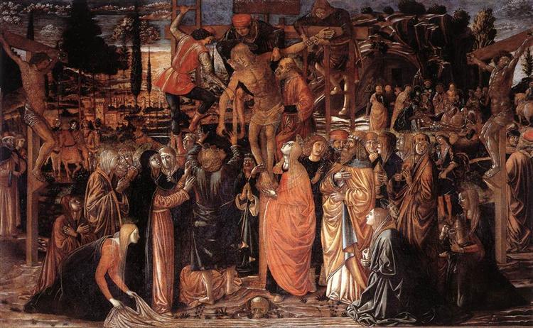 Descent from the Cross, 1491 - Benozzo Gozzoli