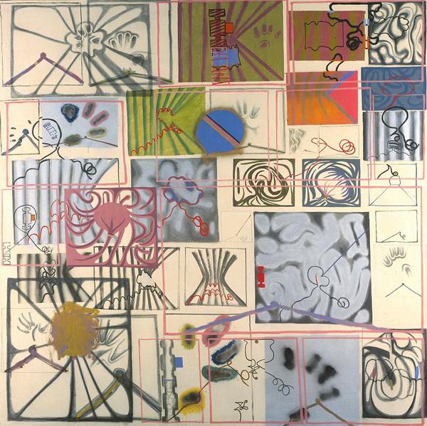 Matter of Identity I, 1963 - Bernard Cohen