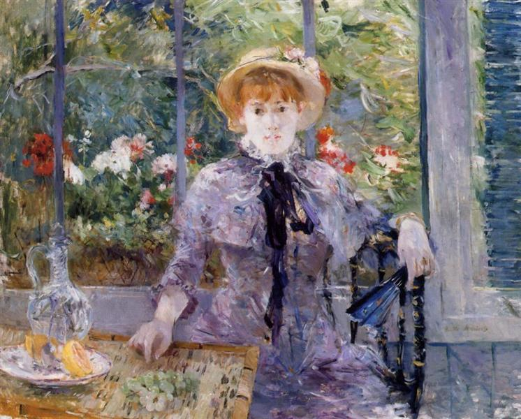 After Luncheon, 1881 - Berthe Morisot