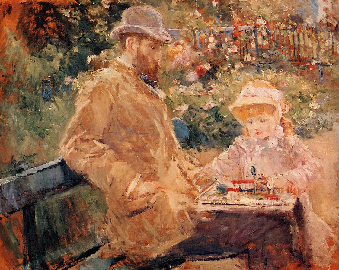 Art of the day march 2015 for In their paintings the impressionists often focused on