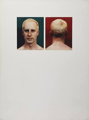 Self Portrait, 1963 - Billy Apple