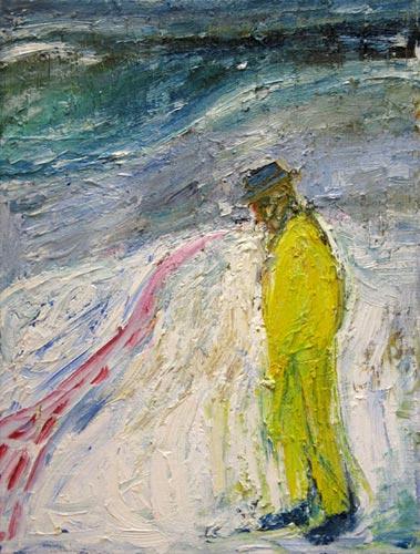 Man Walking in Snow, c.1999 - Billy Childish