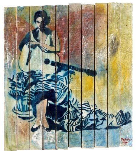 La gitane a la guitare, 1990 - Блек ле Рат