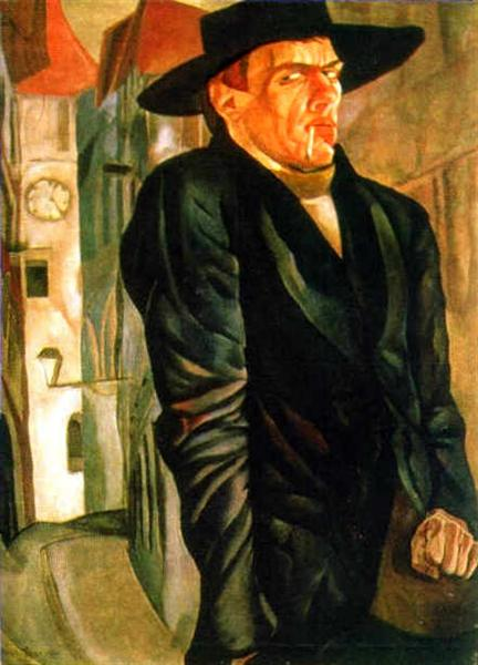 Self-Portrait - Boris Grigoriev