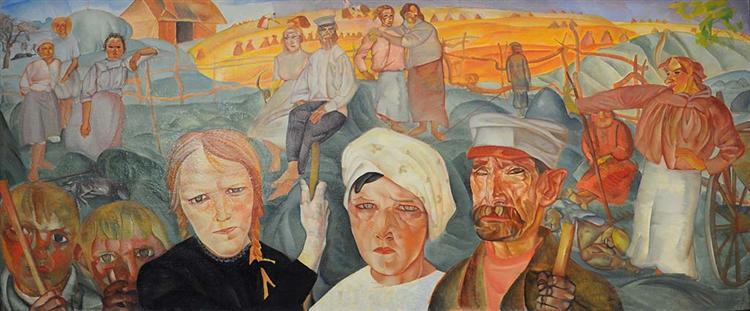 The People's Land, 1918 - Boris Grigoriev