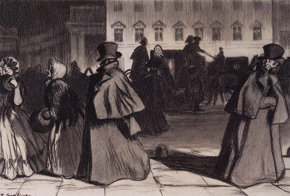 "artworks tagged ""nikolai-gogol-the-overcoat"" - WikiArt.org"