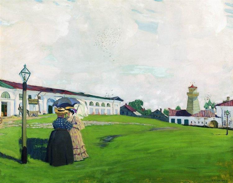 Province (Kostroma), 1906 - Boris Kustodiev