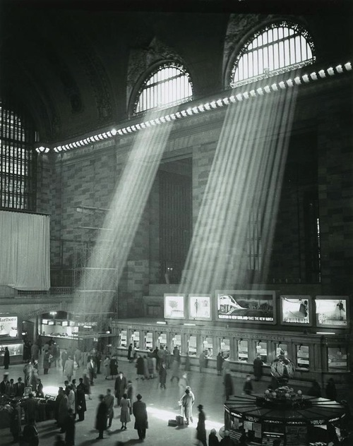 Grand Central Station. New York City, 1957