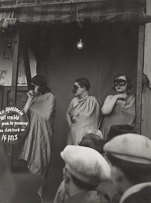Paris street fair, 1931