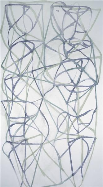 Couplet III, 1988 - 1989 - Brice Marden