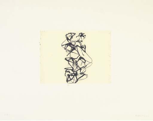 Cyprian Evocation, 1992 - Brice Marden