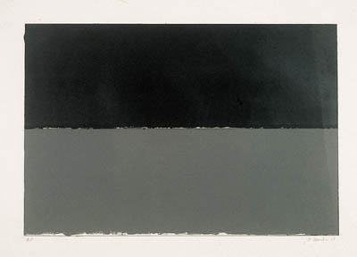 Gulf, from New York Ten (Lewison 16) - Brice Marden