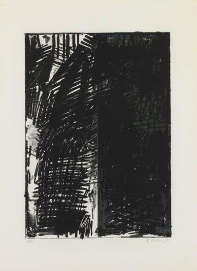 Untitled (Press Series), 1972 - Brice Marden
