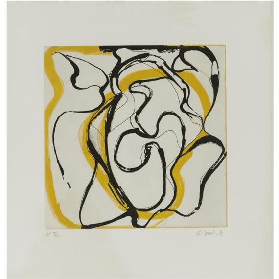 Untitled - Brice Marden