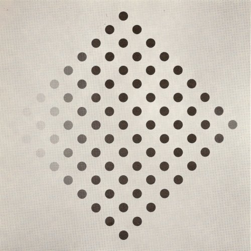 Black to White Disks, 1952 - Bridget Riley