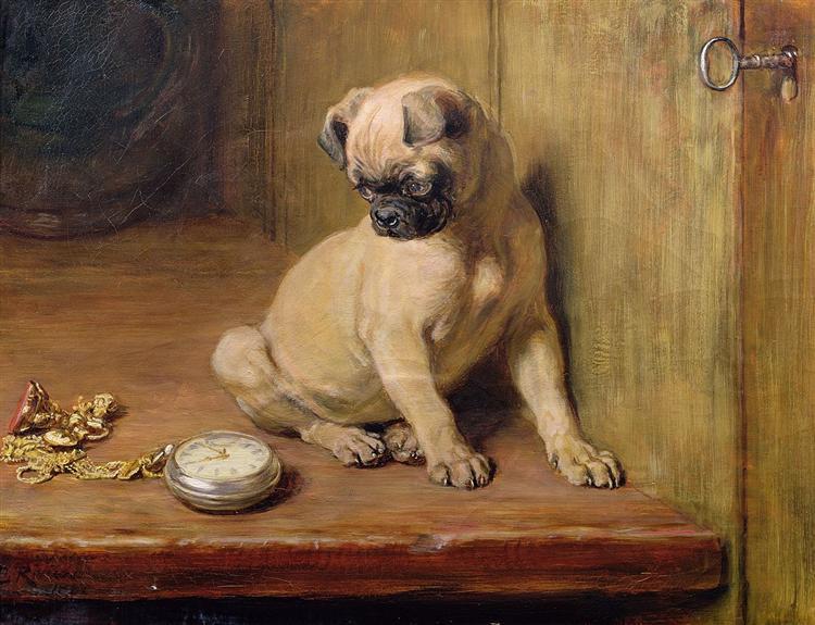 Tick-Tick, 1881 - Briton Riviere
