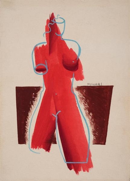 Futurist, 1931 - Bruno Munari
